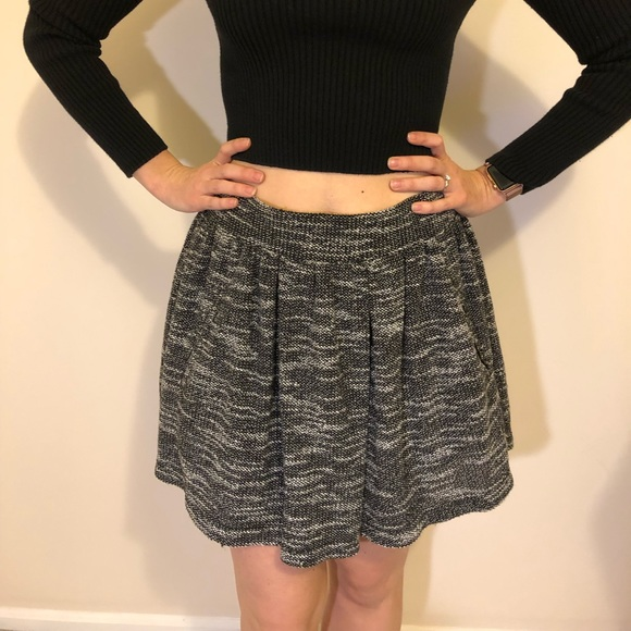 Free People Dresses & Skirts - Free people knit skater skirt with pockets